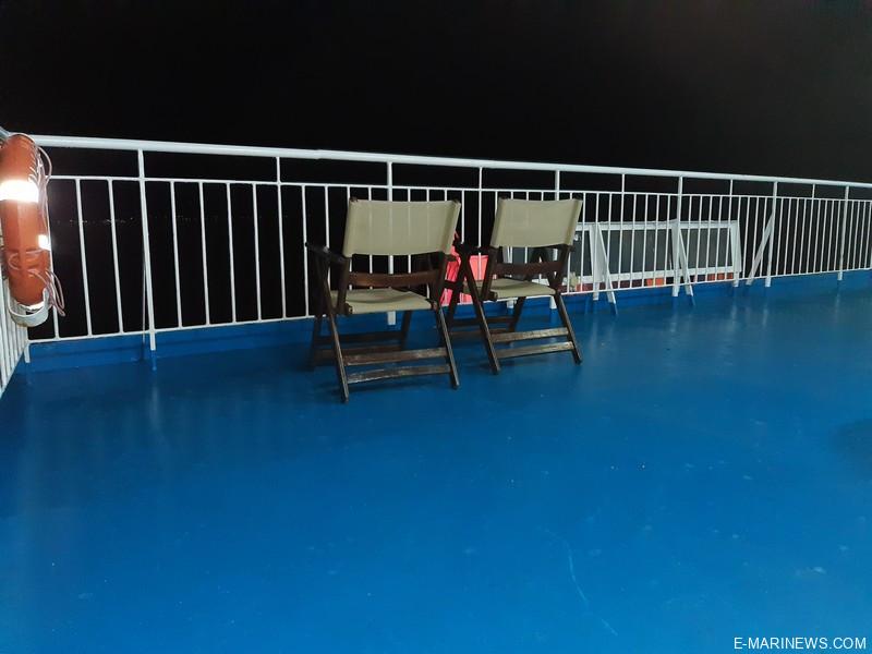 ship olympus deck