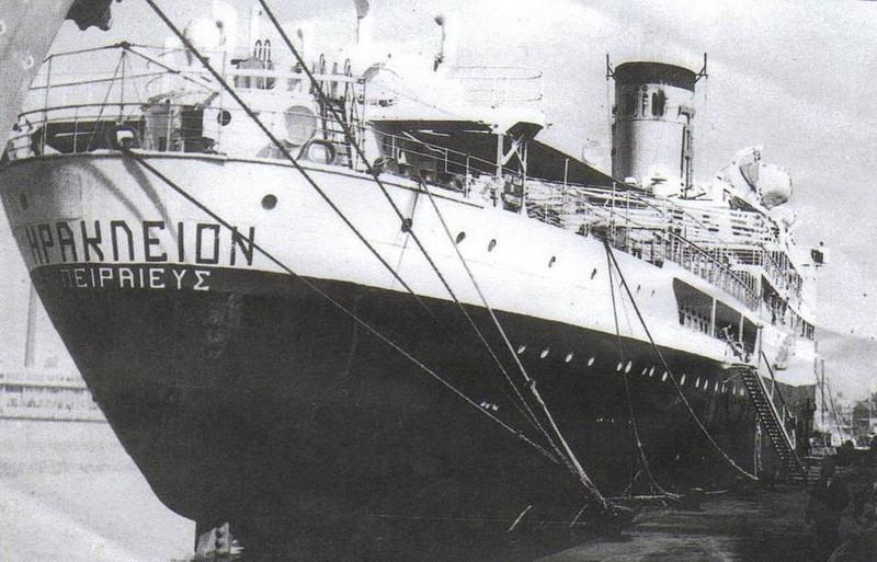 Σαν σήμερα το ναυάγιο του Ηράκλειον