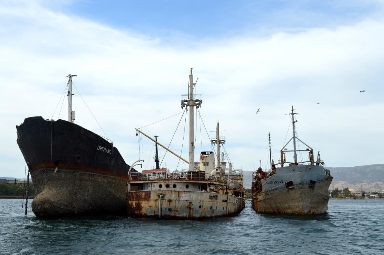 εργασίες ανέλκυσης ναυαγίων