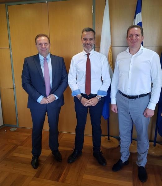 Συνάντηση του Δημάρχου Θεσσαλονίκης με τον νέο Εκτελεστικό Πρόεδρο του Δ.Σ. της ΟΛΘ Α.Ε