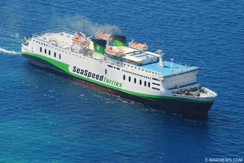 sea speed ferries - olytmpos